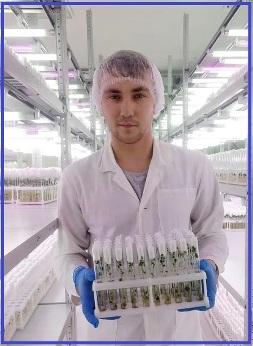 Лев Пальцев, агроном, магистрант УрГАУ